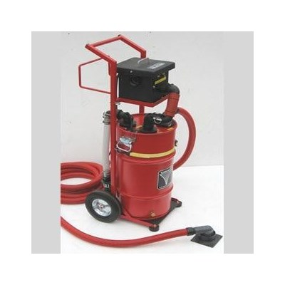 Vacuum 100cfm 110v kit w/frame,hose,more