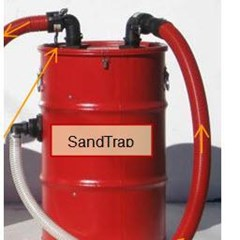Sand Trap Filter 30g w/2in