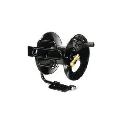 Reel 200ftx3/8in Black PdrCoat Fixed
