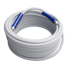 Hose PW 150ft 4000psi Gray w/QC Flextral