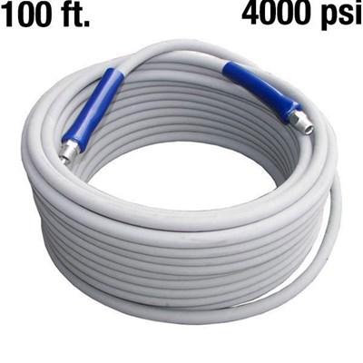 Hose Flextral Gray 100ft 4000psi Pressure Washing