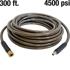 Hose 300ft 3/8in PW 4500psi w/QC
