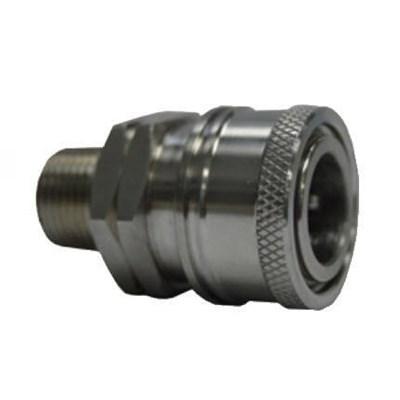 Coupler 1/4 MPT SS Socket