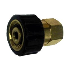 M22 Twist to 1/4in Female NPT Brass