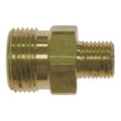 M22 Male to 1/4in Male NPT Brass