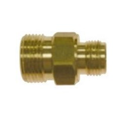 M22 Male to 3/8in Male NPT Brass