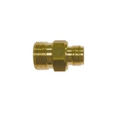 M22 Male to 3/8in Male NPT Brass