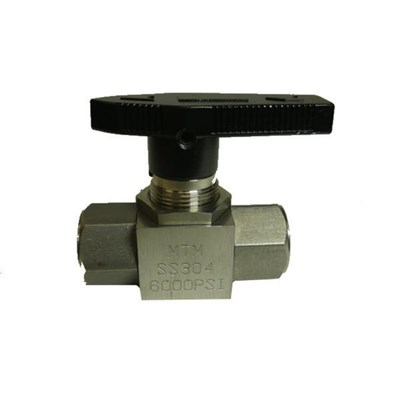 Ball Valve 3/8in FPT 6000psi Stainless Steel Pressure Washer
