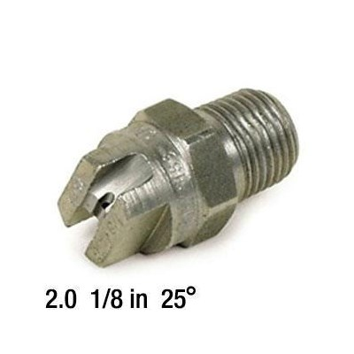 2.0 Nozzle SS 1/8in 25deg 2503