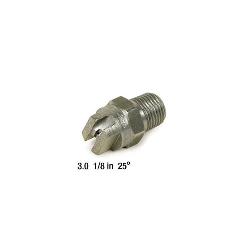 3.0 Nozzle SS 1/8in 25deg 2503