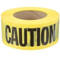 Caution Tape 1000ft Yellow
