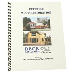 Exterior Wood Restoration Manual DRP