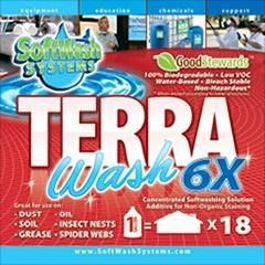 Terra Wash 6X Concentrate 1 Gal