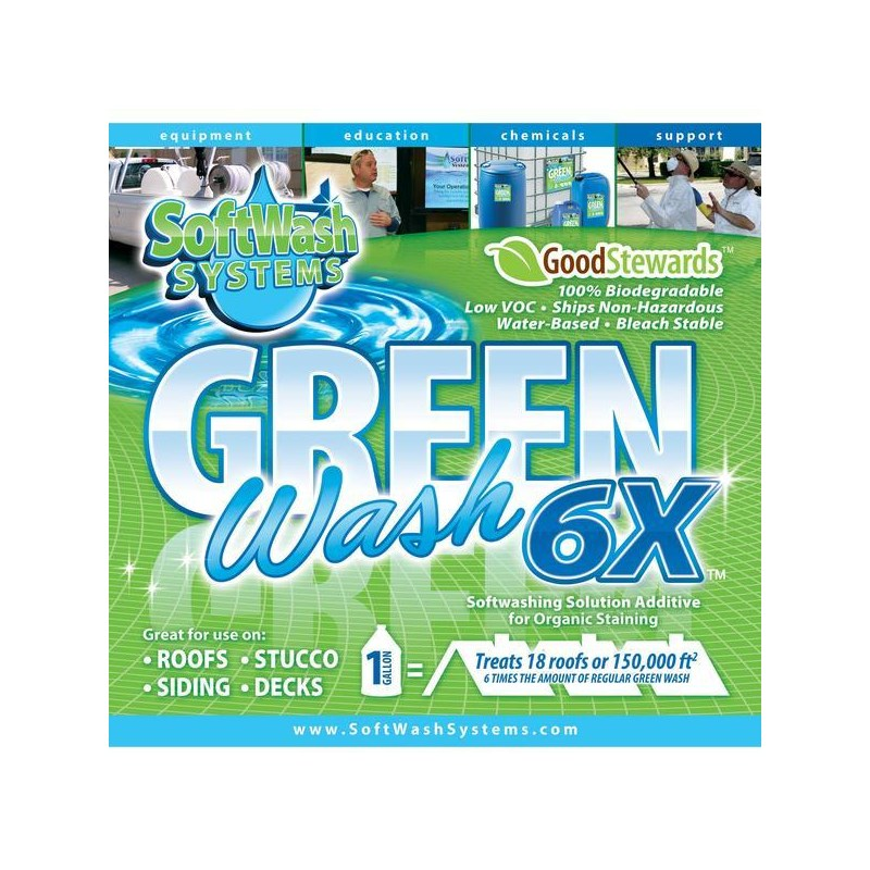Green Wash 6X Concentrate 1 Gal