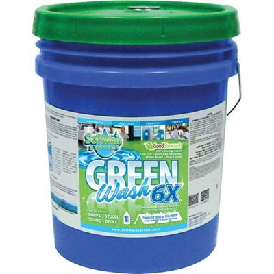 Green Wash 6X Concentrate 5 Gal