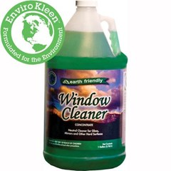 Earth Friendly Glass Cleaner Concentrate Gal