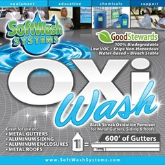 Oxi Wash for Gutters gallon