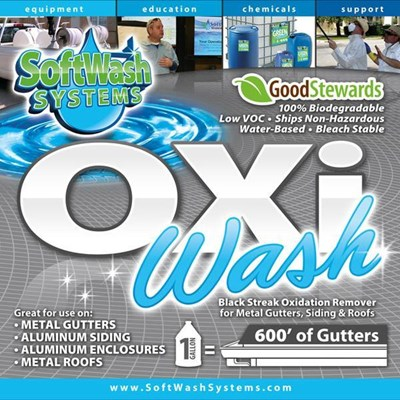 Oxi Wash for Gutters 5 Gallons