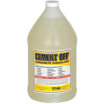 Titan Labs Cement-Off Cleaner