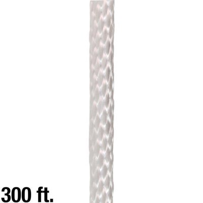 Rope Braided 1/2in White 300ft
