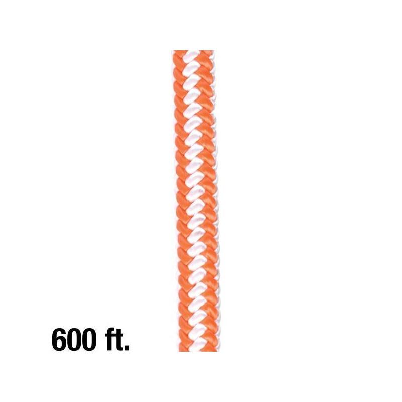Rope Braided Hi Vis 1/2in 600ft