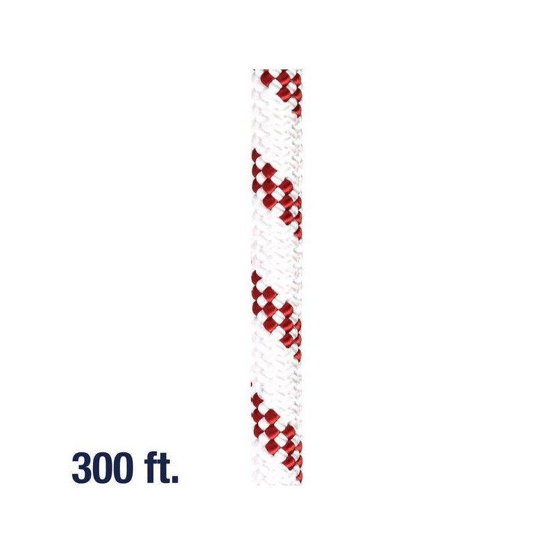 Rope Kernmantle 7/16in White 300ft
