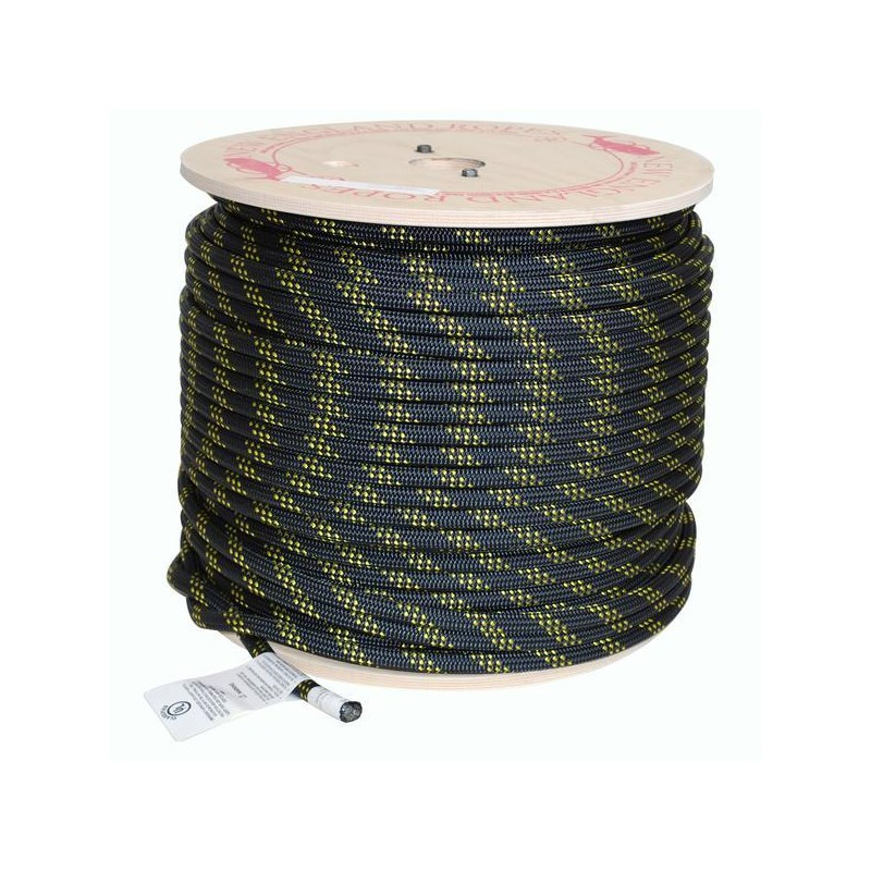 New England Ropes KMIII Rope 1/2in Solid Black