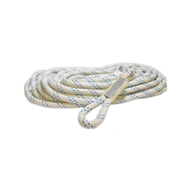KMIII Rope 5/8in 75ft with eye loop ends