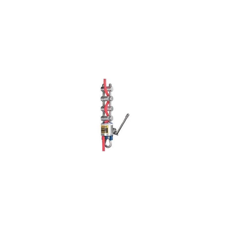 Rack Type Descender w/Break Alum MIO