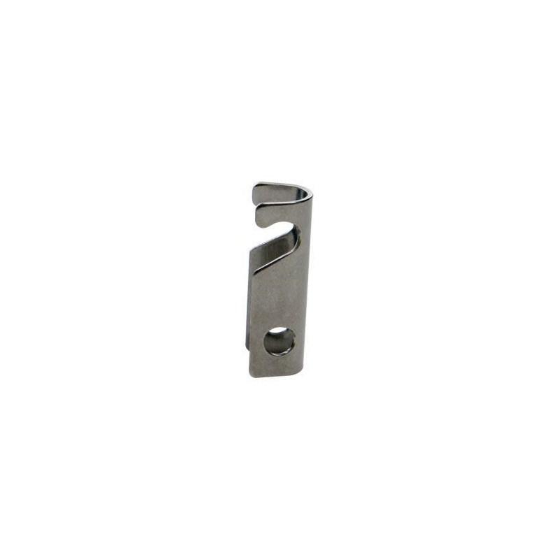 Bar Brake 3/4in SS Angled Slot w/groove