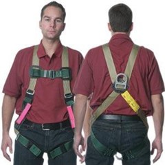 Descent Control LifeSaver Full Body Harness  Sky Genie