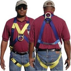 #933 Front & Back D-Ring Harness Gemtor