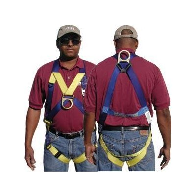 #933 Front & Back D-Ring Harness Gemtor