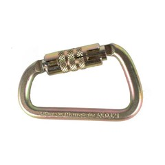 Carabiner ANSI Modified D Twist Lock