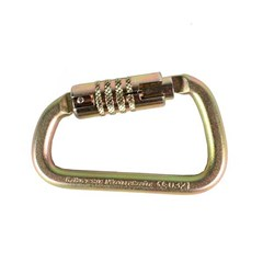 Carabiner ANSI Modified D Triple Lock