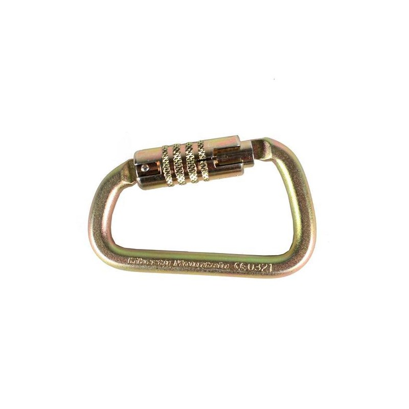Carabiner ANSI Modified D Triple Lock