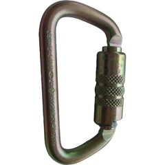 Carabiner ANSI Twist Lock D Steel
