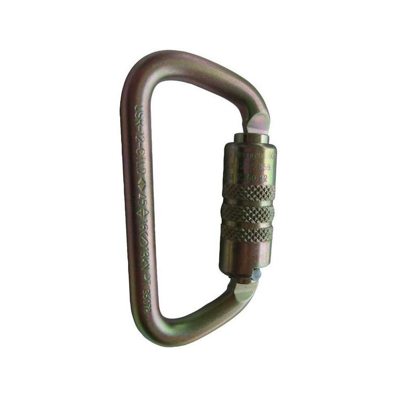 Carabiner ANSI Twist Lock D Steel