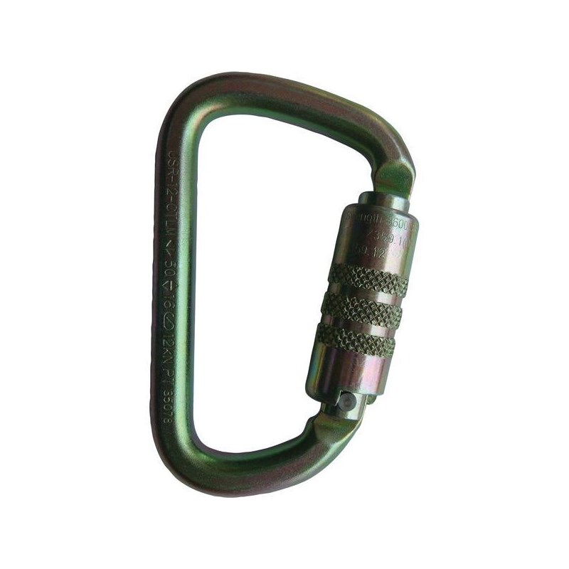 Carabiner ANSI Twist Lock Mod D Steel