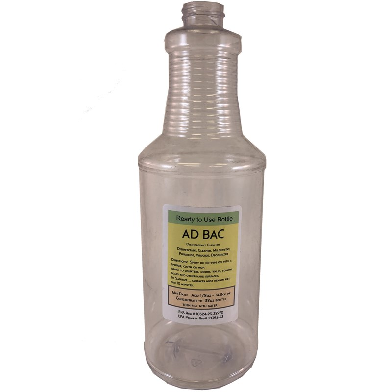 Bottle 32oz w/Ad-Bac Label