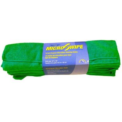 MicroSwipe Towel 16x16 Green (10) Ettore