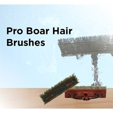 Pro Boar Hair Brushes for Poles