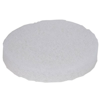Pad Round Soft White Polish Pad