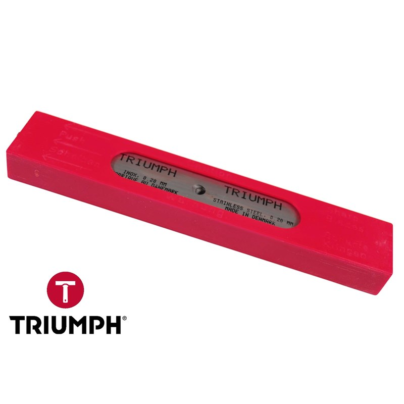 Blades Triumph Stainless Steel 06in 0.20 mm Thick (25 Pack)