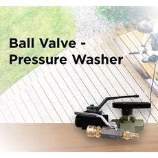Ball Valve - Pressure Washer