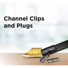Channel Clips and Plugs