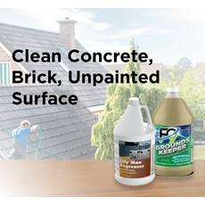 Clean Concrete, Brick, Unpainted Surface