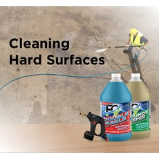 Cleaning Hard Surfaces