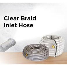 Clear Braid Inlet Hose