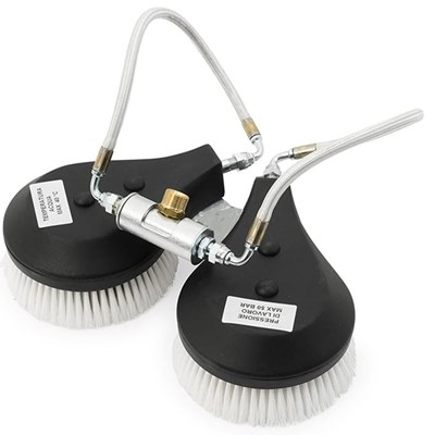 Counter Rotating Solar Brush 16in  with Floating Brush System
